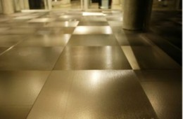 Плитка Alulife — примение на полу