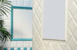 Senio — Trapunta bianco-acquamarina