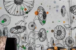 Wall&Deco — Dripping WDDR1301 в интерьере