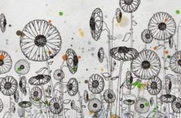 Wall&Deco — Dripping WDDR1301