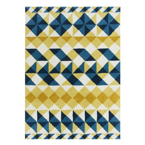 hand-tufted-mosaiek-yellow