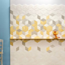 Mutina — Tex White Cream Yellow