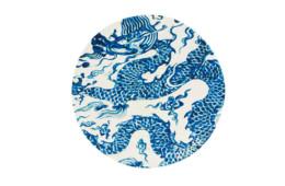 GAN — Chain Stitch Blue China White