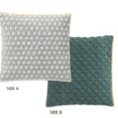 GAN Silai Cushion Celadon-Green