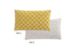 GAN Silai Cushion Yellow-White