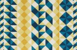GAN — Kilim Mosaiek Yellow