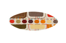 GAN — Hand Tufted Surf Malibu Mediterraneo
