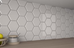 WOW — Subway Lab. Line Three Mini Hexa Bevel. Cotton Gloss