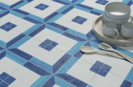 WOW — Blanc et Bleu Square Decor