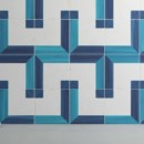 WOW — Blanc Et Bleu Square Wall Decor