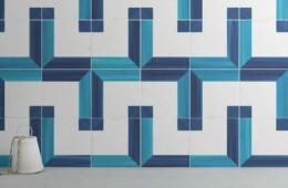 WOW — Blanc Et Bleu Square Wall Decor