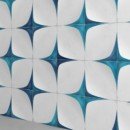 WOW — Blanc Et Bleu Leaf Wall Decor