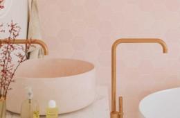 WOW — Zellige Hexa Pink