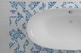 WOW — Blanc Et Bleu Antique Décor Mix
