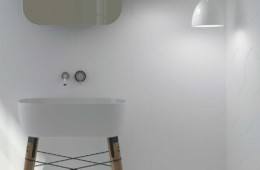 WOW — WOW Collection Hexa Liso Ice White Matt