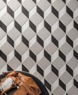 CE.SI. — Art Deco Cubo Fluoro, Carbonio, Alluminio