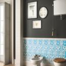 Ceramiche Grazia — Ermi.Deco Bianco/Pavone Matt